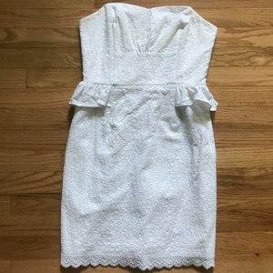 Lilly Pulitzer Maybell Dress White Size 2